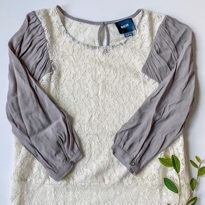 Anthropologie Maeve Lace Blouse, Size 0